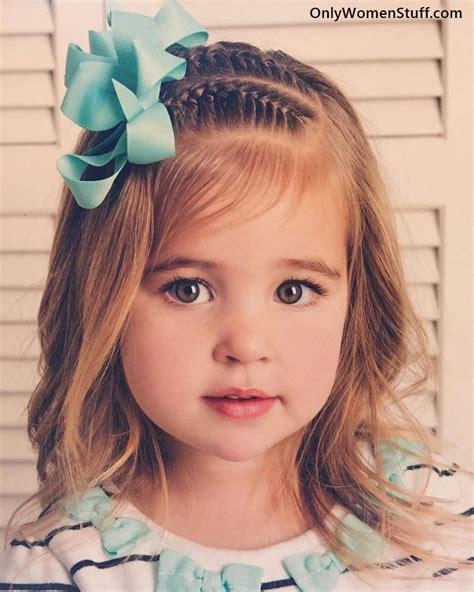 cute easy hairstyles for little girl 30 easy kids hairstyles ideas for little girls very cute