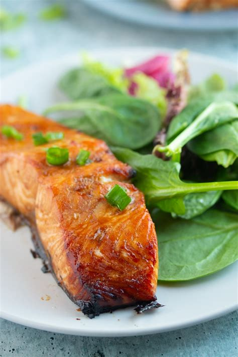 salmon fryer air marinated recipe easy perfect quick every delicious cooked salad simple cooks meal dish each plate