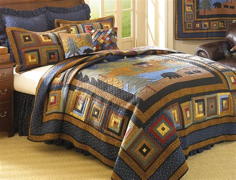 midnight bear deluxe bed set king
