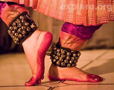 Get up and dance! The ankle bells on Indian dancers are called ?Ghungroo.?   Photography ~ India