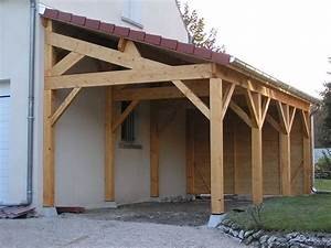 photos de appentis construire garagecom With construire garage en bois