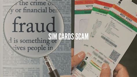 You probably know that most phones have a sim card. Fake Sim Cards Scam Rises in India by Misusing Aadhar Details