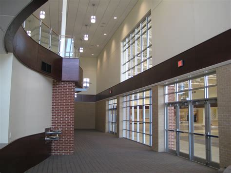 indian trail academy high school auditorium bray architects
