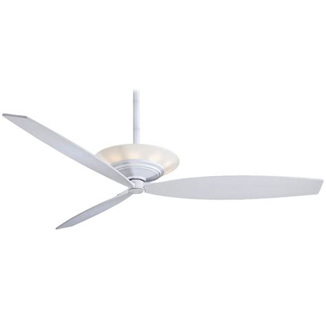 minka aire f737 wh moda white 60 quot ceiling fan w light