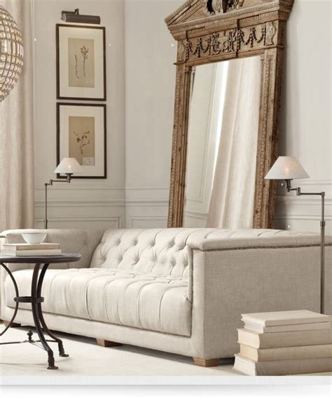 restoration hardware floor mirror classic living rooms and modern sofa on 4792