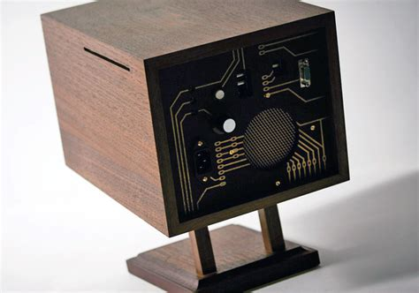 wooden computer artifacts