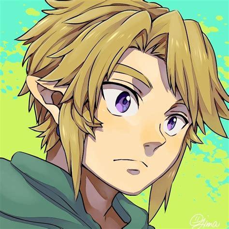 Legend Of Zelda Link I Love His Eyes In This Art