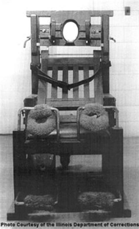 Electric Chair Executions Illinois by Electric Chair Pictures Penalty Reflections And