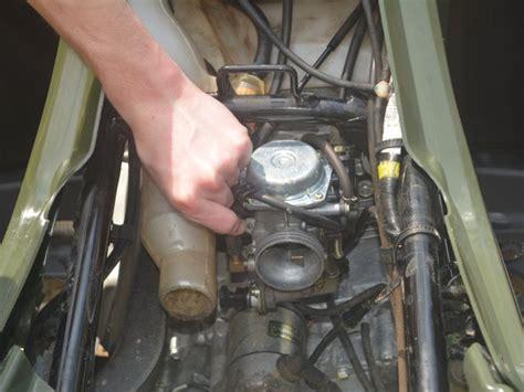 Honda Rancher Four Wheeler Carburetor Repair