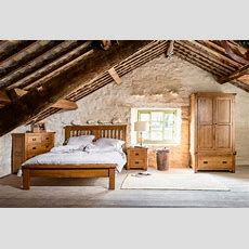 Natural Rustic Oak Bedroom  Rustic  Bedroom  North West