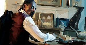 American Paintings Black People Music Rap Snoop Dogg ...
