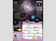 Year In Space Wall Calendar