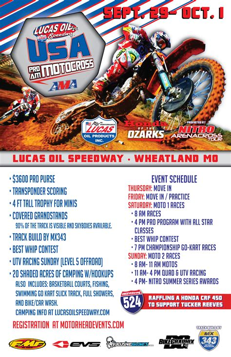 pro am motocross tickets for ama pro am motocross sunday in wheatland from