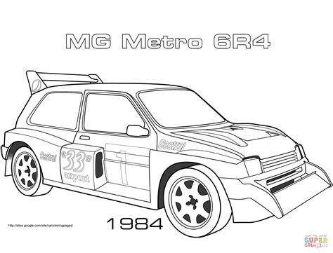 mg metro  coloring page  printable coloring pages
