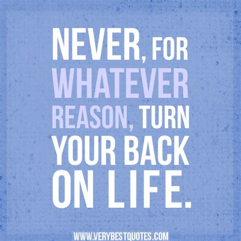 I Will Never Turn Back Quotes