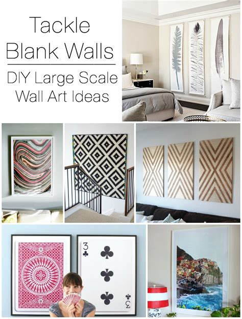 Decorating Ideas Blank Wall by Decorating Large Walls 10 Blank Wall Solutions