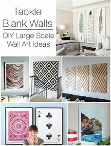 Decorating large walls large scale wall art ideas for How to decorate walls with art