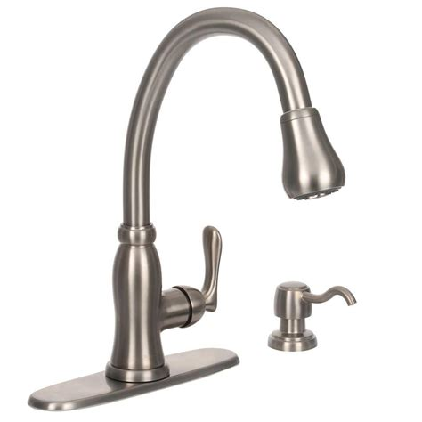 pavilion single handle pull down sprayer kitchen faucet