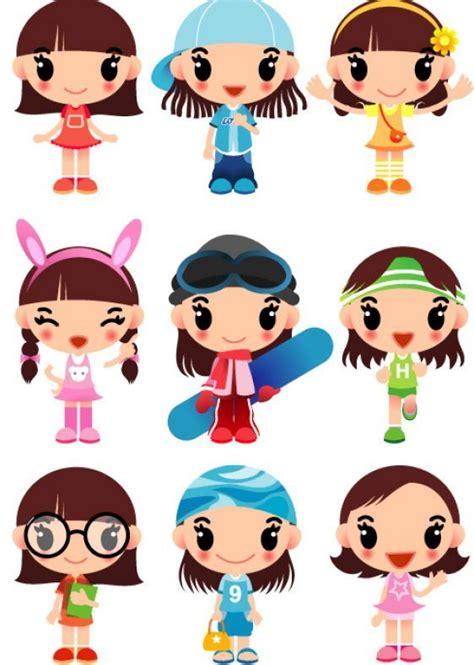 girl cartoon characters cute cartoon characters