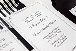 margaret brian39s elegant formal wedding invitations With classy formal wedding invitations