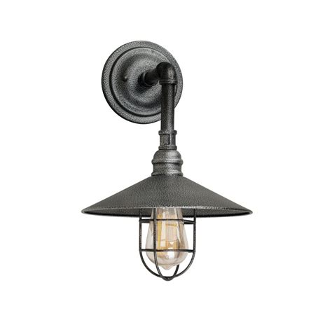 industrial style outdoor wall lights filament design 1 light industrial gray outdoor wall