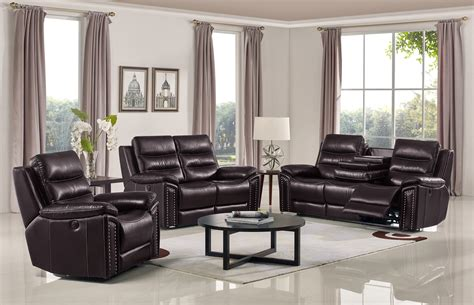 Reclining Sofa Sets by Jetson Reclining 3 Pc Sofa Set Leather Air Code G03