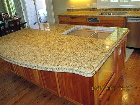 granite kitchen countertop island crafted countertops