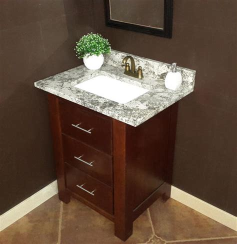 31 quot x 22 quot gray forest granite vanity top 1 rectangle