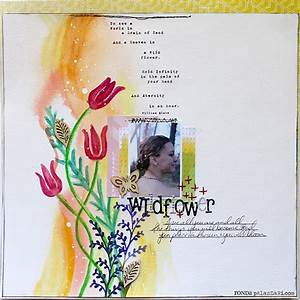 Ronda Palazzari Wildflower – The Crafter's Workshop Blog