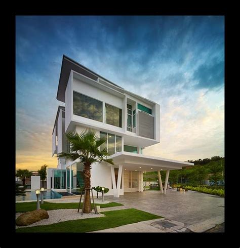 contemporary modern home plans 124 best 1 4 malaysia modern villas images on