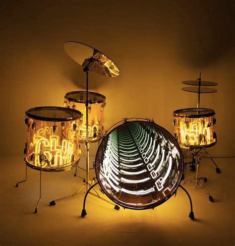 drum set lights photo