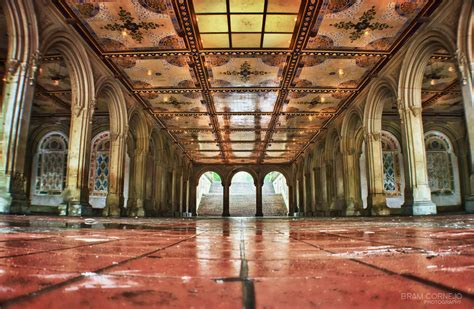 bethesda arcade parte de bethesda terrace en central park flickr
