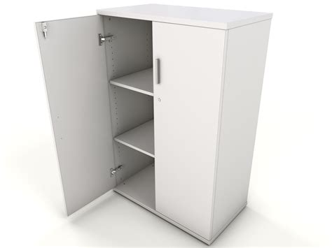 Cupboard White by White Desk High Storage Cupboard Icarus Office Furniture