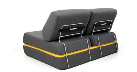 dunlopillo canapé convertible canap 233 convertible d l 150 cm gris anthracite