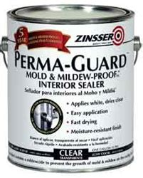 zinsser perma guard mold mildew proof clear sealer