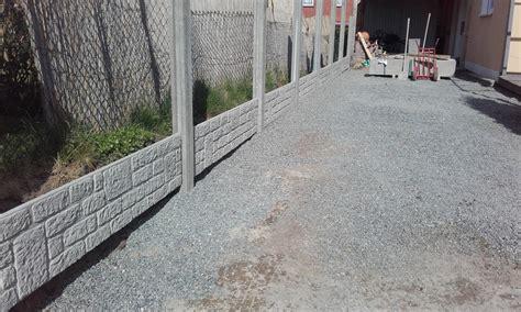 Gartenzaun Aus Beton jm baupartner gartenzaun in beton