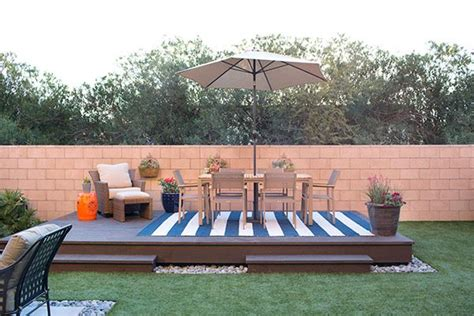 Design Your Own Deck Home Depot by How To Build A Floating Deck The Home Depot Home