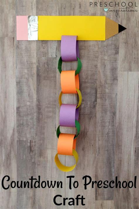 countdown to preschool back to school craft preschool 973 | Back to School Countdown Craft 5