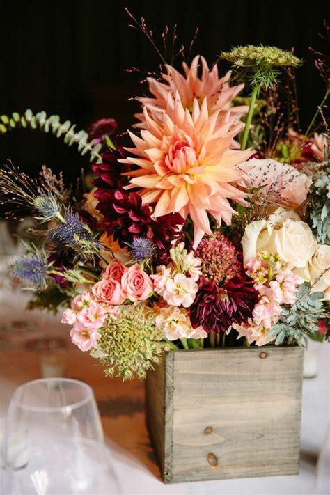 Herbst Gartenblumen by Herbst Tischdeko Mit Blumen 20 Romantische Hochzeit Ideen