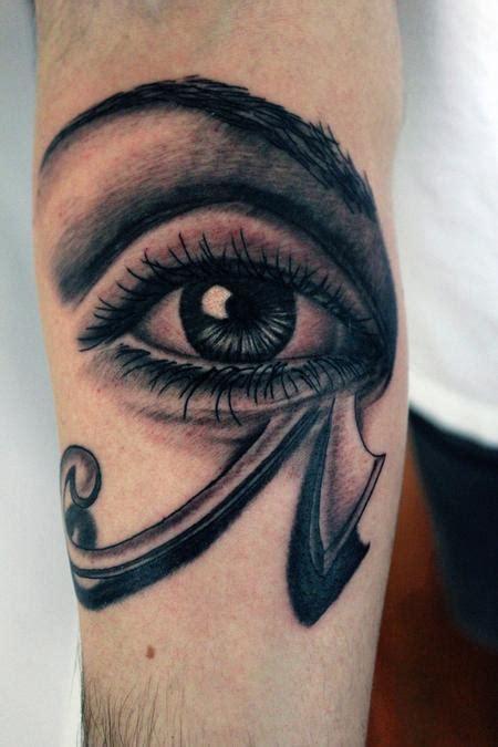 incredible horus eye tattoos