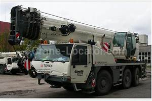 All Terrain Mobile Crane Terex Demag Ac 55 Look On The Map
