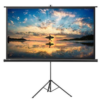 Top 10 Best Projector Screens in 2019 Reviews Buyer's Guide