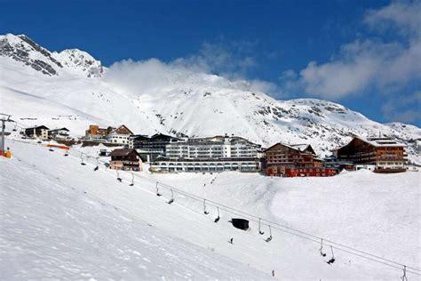 Wintersportort Hochsölden in Tirol