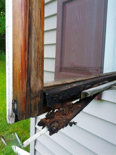 casement window bottom  frame rotted repair  replace houserepairtalk
