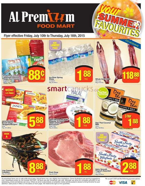 premium cuisines al premium food mart flyer july 10 to 16
