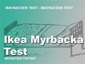 Test Ikea Matratzen : ikea myrbacka test matratzen test ~ Indierocktalk.com Haus und Dekorationen