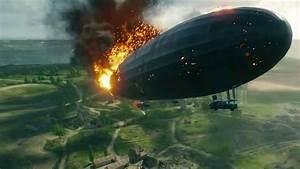 Zeppelin Crashes In Battlefield 1 Celebrity Gameplay At