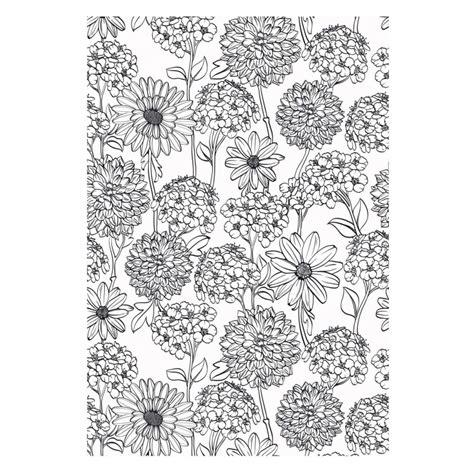 Artthérapie 100 Coloriages Fleurs  Les Papiers De Lucas
