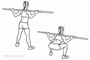 Wide Stance    Sumo Barbell Squat