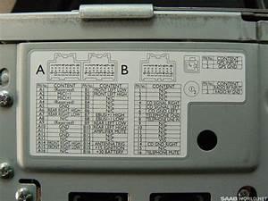 2005 Desno Nav Head Unit Back Photo - Saab 9-5 Bulletin Board